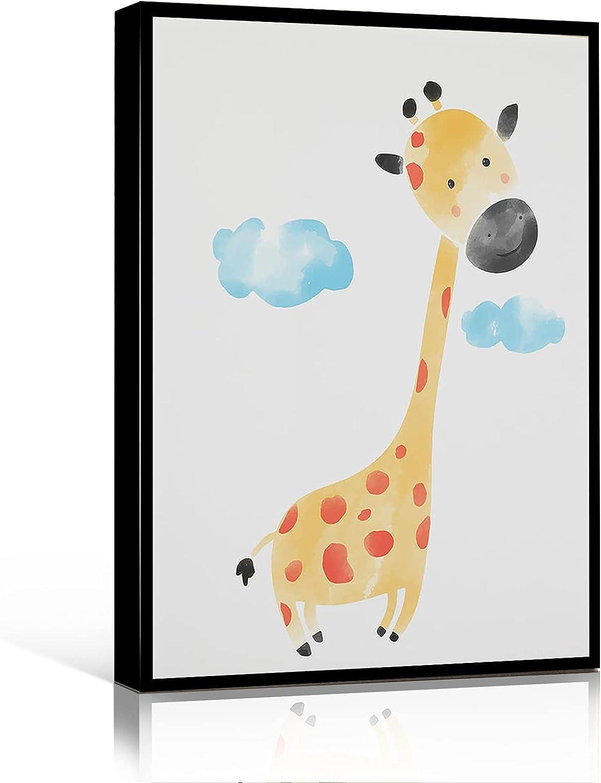 WALL ART CANVAS funny office sa cow giraffe wall decor Max 60% OFF Dallas Mall