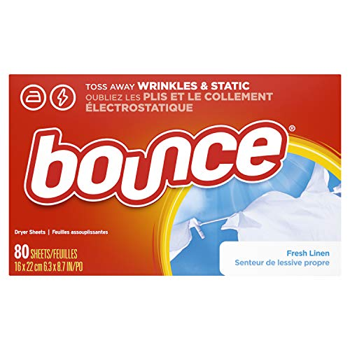 Bounce Dryer Sheets - Fresh Linen - 80 ct