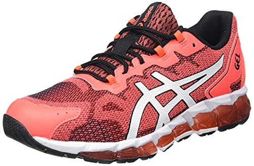Asics Gel-Quantum 360 6, Road Running Shoe Hombre, Rouge Vif Blanc, 42.5 EU