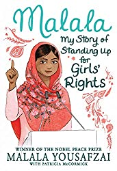 malala childrens picture book illustrated cover