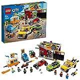 LEGO 60258 City Taller de Tuneo Juguete de Construcción para Niños y Niñas +6 años con 7 Mini Figuras