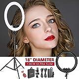 Neewer Ring Light Kit [1,8cm Ultra Fin] Anneau Lumineux 48 cm, 3200-5600K,...