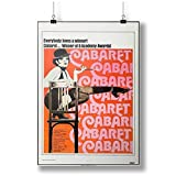 Vintage Cabaret Movie for restaurant A0 A1 A2 A3 A4 Satin