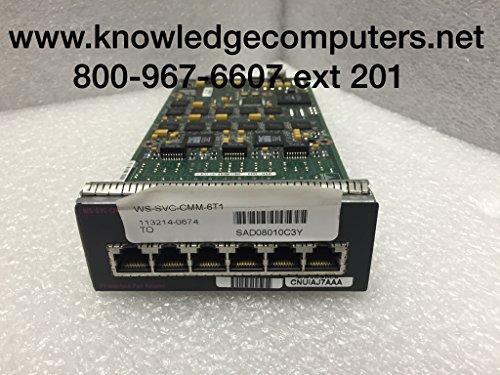 Cisco Voice Interface Card (WS-SVC-CMM-6T1=)
