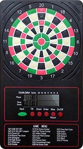 Arachnid LCD Elektronische Touch Pad Dart Scorer Punkte bis zu 18 Spielarten für 8 Spieler