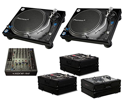 Why Should You Buy 2x Pioneer PLX-1000 + Xone:92 Fader + Odyssey Black Label Cases