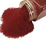 FAIRY TAIL & GLITZER FEE Sabbia decorativa, 620 g, rosso reale, sabbia colorata, granulato da spargimento, decorazione da tavolo, riempimento vasi, sabbia decorativa