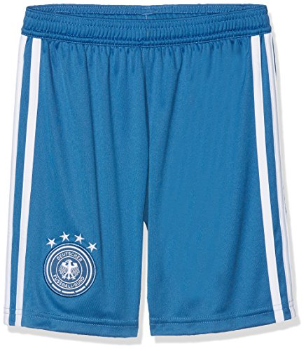 adidas Kinder DFB Home Goalkeeper 2018 Shorts, Trace Royal/White, 164