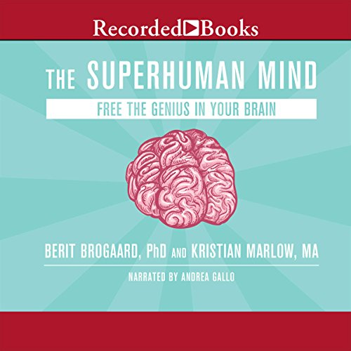 The Superhuman Mind audiobook cover art