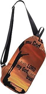 Crossbody Sling Backpack In You! Christian Chest Shoulder Bags Multipurpose for Men/Women