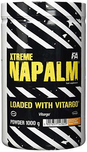 FA Nutrition Xtreme Napalm Loaded with Vitargo - 1kg - Orange - Pre-workout