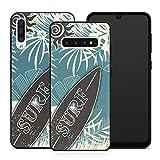 Carcasa para teléfono móvil Surf para Samsung MMM Berlin, Silicona, Surfer Skater Surfer Skateboard Surfboard