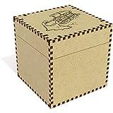 Azeeda Grande 'Trineo de Madera' Joyería Caja (JB00018099)