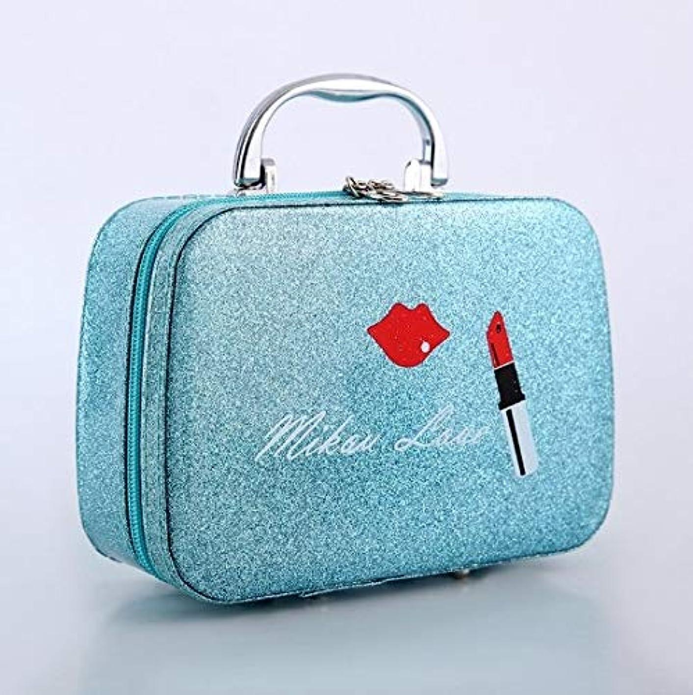 アライアンストーストオークション化粧箱、口紅の唇、スクラブ、携帯用化粧品ケース、携帯用旅行化粧品ケース、美容ネイルジュエリー収納ボックス