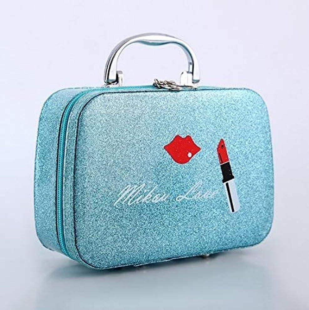 盗難ビルマ電気的化粧箱、口紅の唇、スクラブ、携帯用化粧品ケース、携帯用旅行化粧品ケース、美容ネイルジュエリー収納ボックス