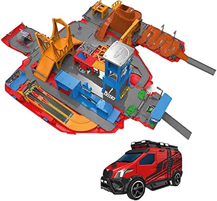 Micro machines  set da gioco super van city con oltre 20 campi di gioco + 3 veicoli esclusivi MMW0042