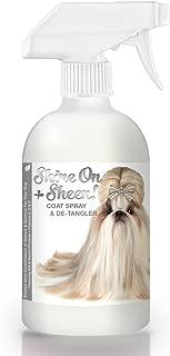 معطف من بت الهانئ shine-on + شين ، من جميع المواد طبيعية ترك في مكيف من التشابك من أجل الكلب الخاص بك, 16-Ounce