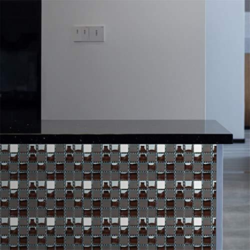 20PCS Self-Adhesive Bathroom Kitchen Decor Home Wall 3D Tile Sticker