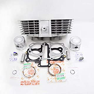 Motorcycle Cylinder Piston Ring Gasket Kit for Honda CB 250 TWO FIFTY NIGHTHAWK CB250M/N/P/R/S/T/V/W/X/1/2/3/4/5/6/7/8