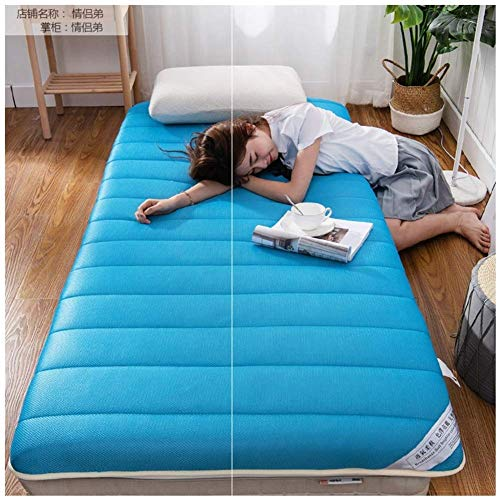 Folding Mattress Sleeping Mat Multi-purpose Mattress for Student Dormitory Thick Tatami Mattresses for Travel Bed Reading as D-bed 100x200cm (39x79inch)