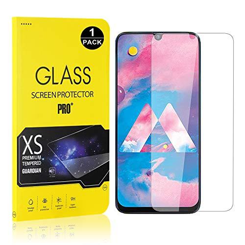 Bear Village® Displayschutzfolie für Galaxy M30, 9H Hart Schutzfilm aus Gehärtetem Glas, Ultra klar Displayschutz Schutzfolie für Samsung Galaxy M30, 1 Stück
