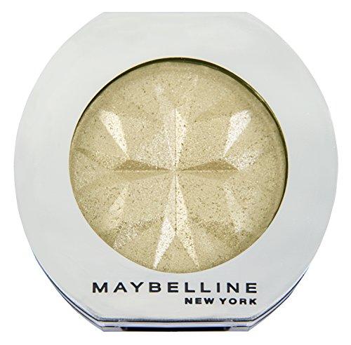 Maybelline New York Lidschatten Colorshow Mono Shadow Gold Fever 43 / Eyeshadow Gold Metallic Finish, leuchtende Farben, intensive Deckkraft, 1 x 3 g
