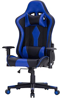Amazon.com: AmazonBasics silla de juego – estilo de carreras ...