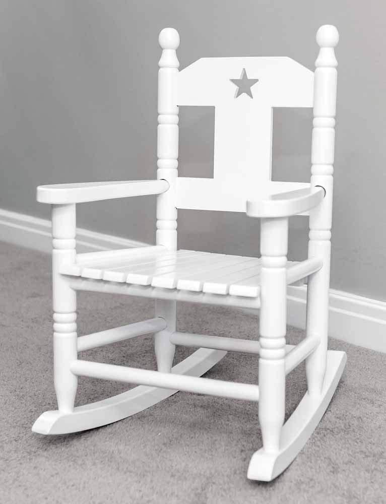 Sr Children S White Wooden Rocking Chair Buy Online In Burundi At Desertcart