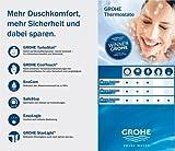 "Grohe ""Grohtherm 3000 Cosmopolitan"" Thermostat-Duscharmatur - 10"