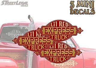 3 Mini Lil Red Express Truck 4