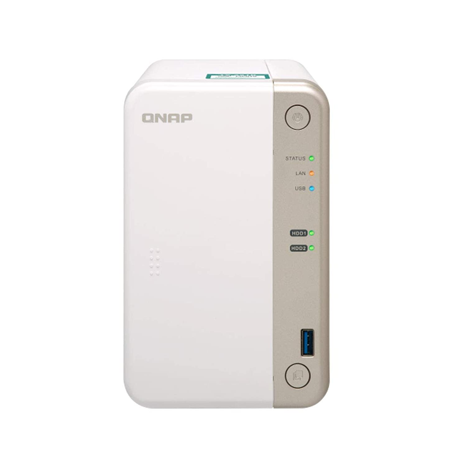 QNAP Bay Home/SOHO NAS with PCIe Expansion (4GB RAM Version) (TS-251B-4G-US)