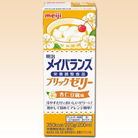 メイバランス ブリックゼリー 杏仁豆腐味 220g