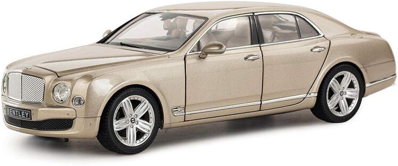 ventas de salida KaKaDz Wei KKD KKD KKD Escala Modelo Simulación Vehículo Modelo de Coche 1 18 Bentley Coche Clásico Diecast Luxury Coche Modelo Niños Regalo de Cumpleaños Juguetes Colección  Venta en línea precio bajo descuento