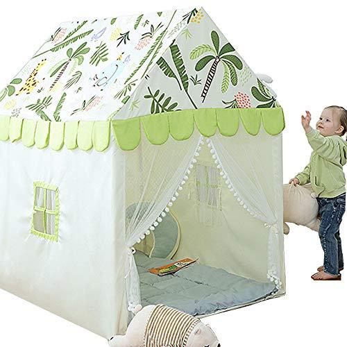 OIWIO Tienda De CampañA para NiñOs, Tienda CampañA/Casa/Carpa Plegable, Casa De Juegos para NiñOs Y NiñAs, BebéS Y NiñOs PequeñOs En Interiores Y Exteriores,Green