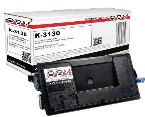 OBV kompatibler Toner Ersatz für Kyocera TK-3130 1T02LV0NL0 für Kyocera ECOSYS M3550idn M3560idn FS-4200DN FS-4300DN 25000 Seiten schwarz