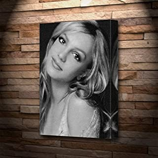 Seasons Britney Spears - Canvas Print (A5 - Signed by The Artist) #js002