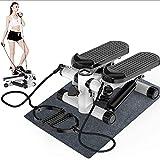 FGVDJ Mini-Stepper Swing Stepper Mini Stepper Gym, Cilindro hidráulico Doble de absorción de Impactos, para rutinas de Entrenamiento de Gimnasio en casa Seguimiento d