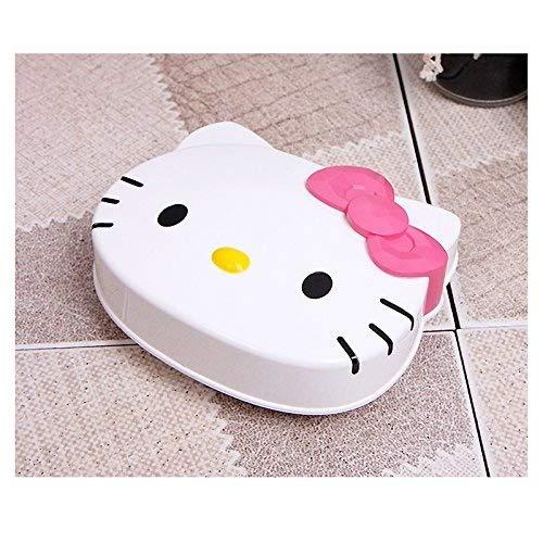 SANRIO Hello Kitty Seifenschale für Dusche, Badezimmer, mit rosa Schleife