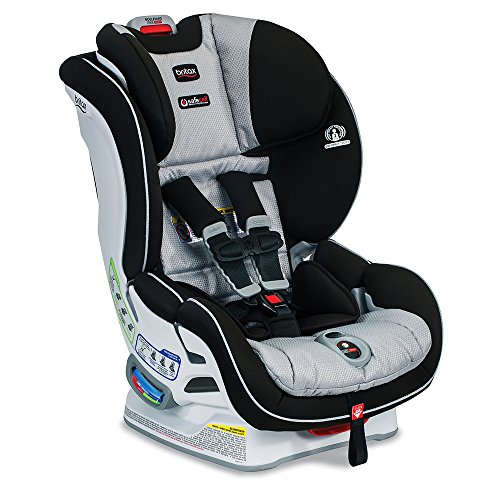 Britax Boulevard ClickTight Convertible Car Seat | 2 Layer Impact Protection - Rear & Forward Facing - 5 to 65 Pounds, Trek
