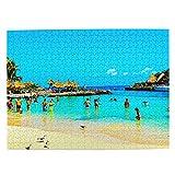 México Xcaret Cancun Jigsaw Puzzle 500 piezas para adultos niño viaje regalo recuerdo 20.5 x 15 pulgadas (FX03957)