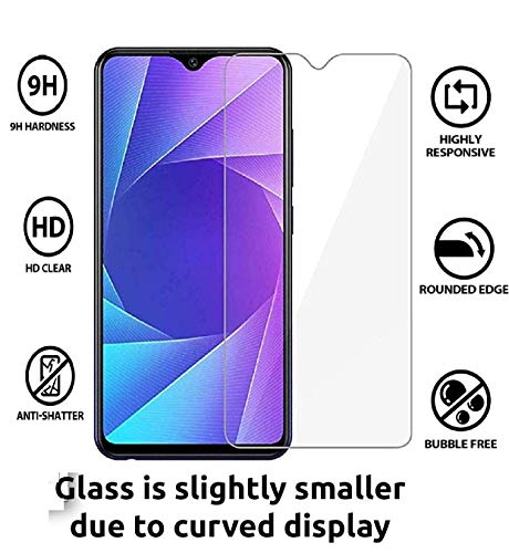 JGD Products 9H Hardness 2.5D HD clearance flexible tempered glass for Realme C2 (2019) with free installation Kit