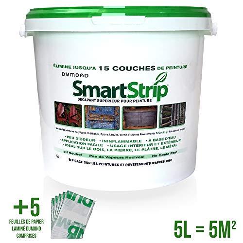 Smart Strip Nagellackentferner biologisch abbaubar Wassergel Entfernt bis zu 3 Schichten Lack auf jedem Untergrund - VOC-frei - Lösemittelfrei - Geruchsarm - unbrennbar - sicher