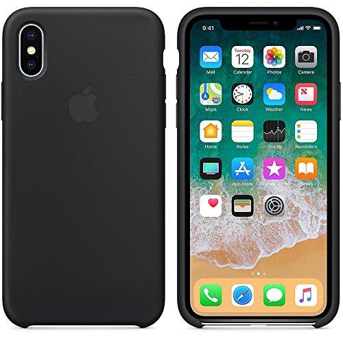 Capa Iphone X Silicone Case Preto