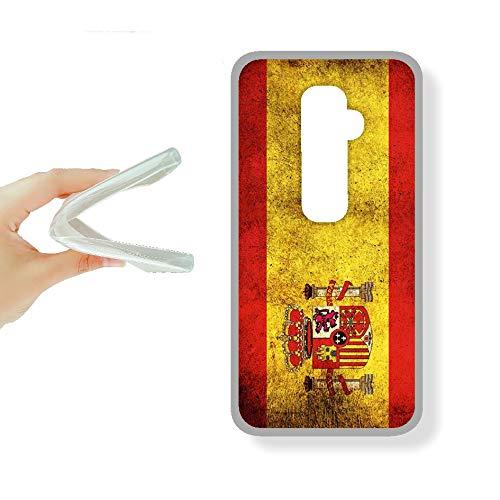 SUPER STICKER Xiaomi Mi5s Plus - Funda Carcasa Gel Flexible, con Dibujo Original, Ref: Bandera Espana