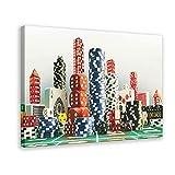BGYU - Póster de lona para habitación de juegos (50 x 75 cm)