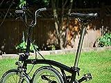 Dino Kiddo ACEOFFIX Silver Titanium 550mm Seat Post for Brompton Folding Bike