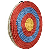 XMSound Hand-Made 3 Layers Straw Target 20 inch Traditional Solid Straw Archery Target for Outdoor Shooting Practice