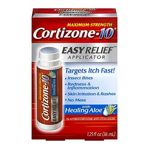 Cortizone 10 Easy Applcto Size 1.25z Cortizone 10 Easy Relief Applicator With Healing Aloe 1.25oz