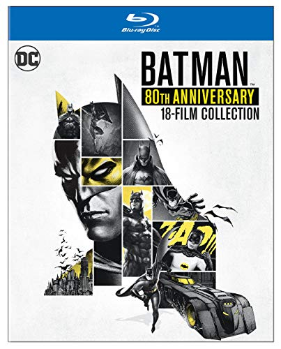 Batman: 80th Anniversary 18-Film Collection [Blu-ray]