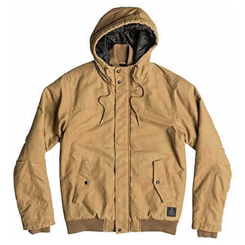 Quiksilver Brooks Veste Homme Dull Gold FR : S (Taille Fabricant : S)